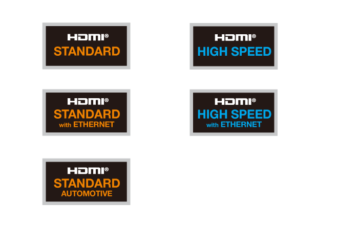 HDMI cable lebels